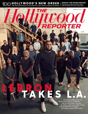 THR LeBron Cover